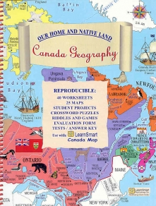 Learn Smart Canada Map Canada Geography   Our Home and Native Land