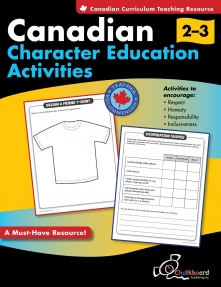 Canadian Character Education Activities 2-3