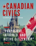 Canadian Civics Workbook only