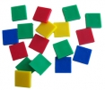 RSMath Square Colored Tiles - approx 200, 1