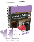 Essentials in Writing Level 4 2nd Ed. Combo (DVD & Workbook)