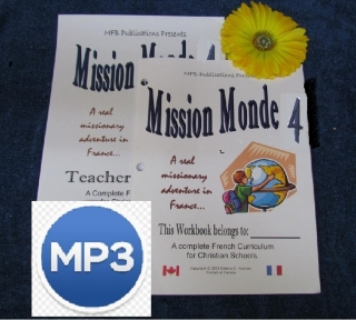 Level 4 - Mission Monde with Link to MP3 Audio Files