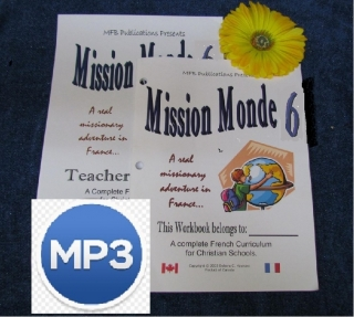 Level 6 - Mission Monde with Link to MP3 Audio Files
