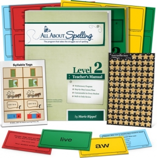 Level 2 Kit - All About Spelling